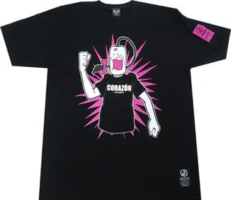 ラーメンマン Tシャツ(ブラック)