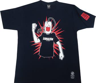 ラーメンマン Tシャツ(ネイビー)