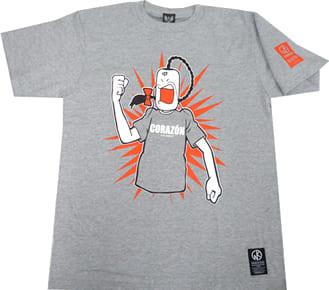ラーメンマン Tシャツ(グレー)