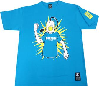 ラーメンマン Tシャツ(ターコイズブルー)