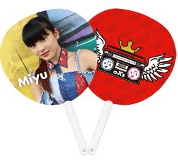 α-X's うちわ 望優(Miyu)