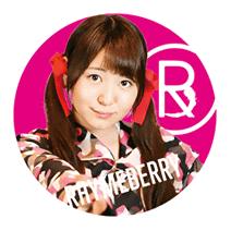 ライムベリー缶バッチ MISAKI Bタイプ