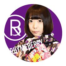 ライムベリー缶バッチ OMOCHI Bタイプ