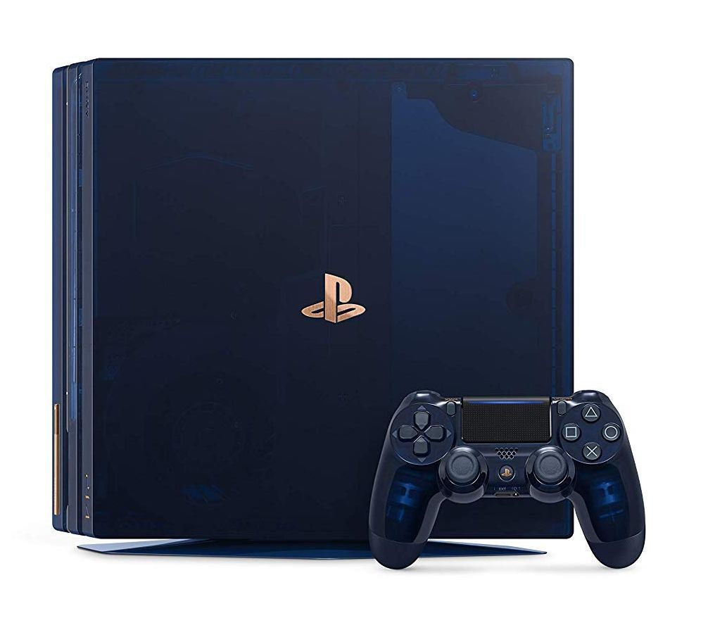 Playstation 4 Pro body (HDD 2 TB) 500 Million Limited Edition (Condition: mono headset malfunction)