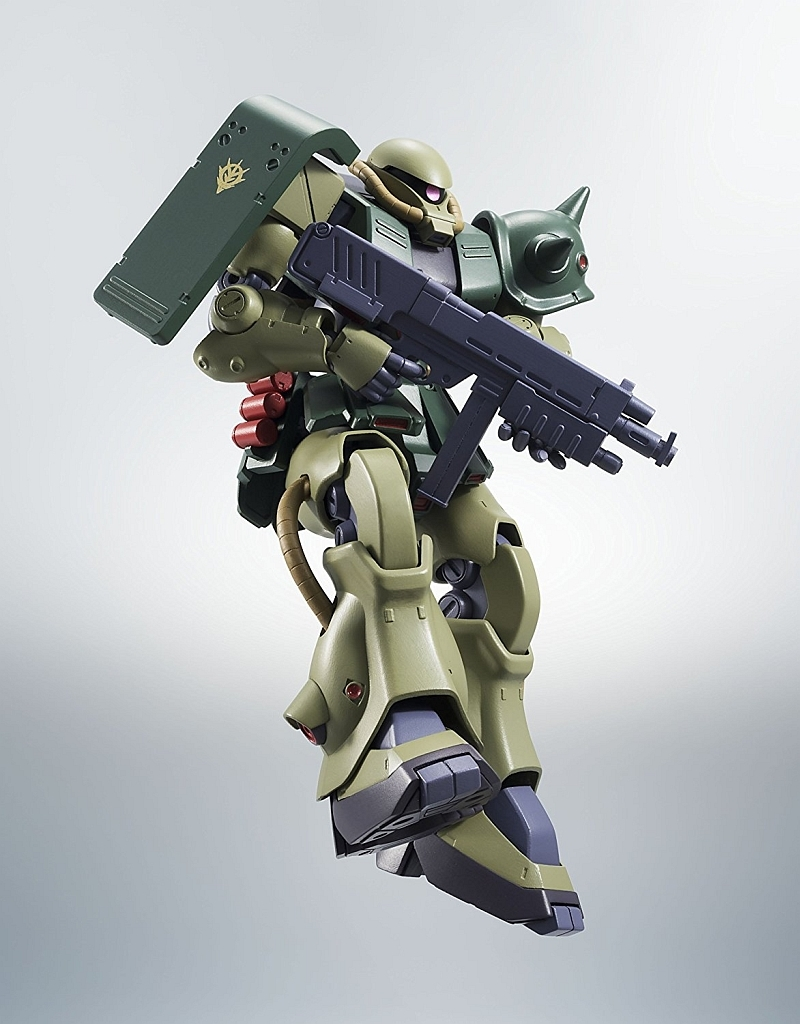 A.N.I.M.E Figure NEW ROBOT SPIRITS SIDE MS Gundam 0080 MS-06FZ ZAKU II KAI Ver