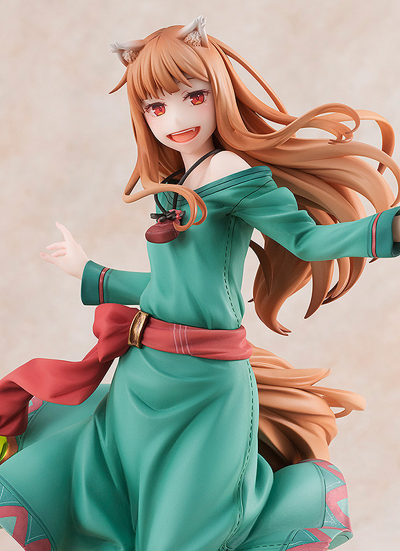 """Holo Wolf and Spice 10th Anniversary Ver. """"Ball and Spice"""" 1/8 Complete painted ABS & PVC"""