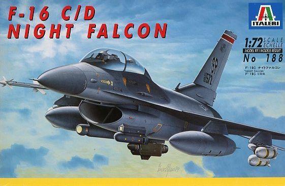 1/72 188 F-16C Night Falcon [39188]