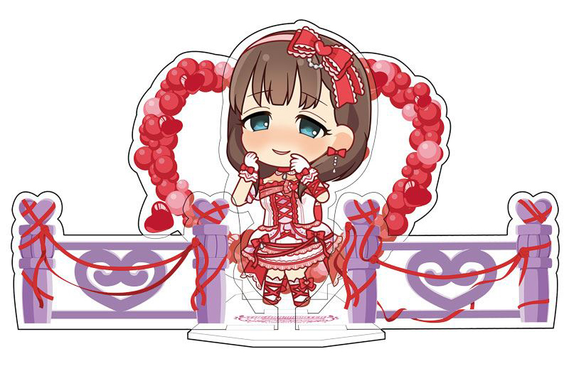 "Sakuma Mayu Acrylic Character Plate 03 ""Idol Master Cinderella Girls"""