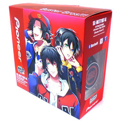 "Ikebukuro Division / Buster Bros !!! Wireless Headphones ""Hypnosismic -Division Rap Battle- × Pioneer"""