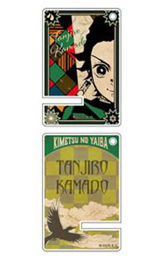 "Susumu Kamado ""Devil's Blade Trading Acrylic Mini Smartphone Stand"""