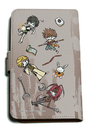 "Chirame design (standing) Graph art design Notebook type multi case ""Saiyuki RELOAD BLAST"""