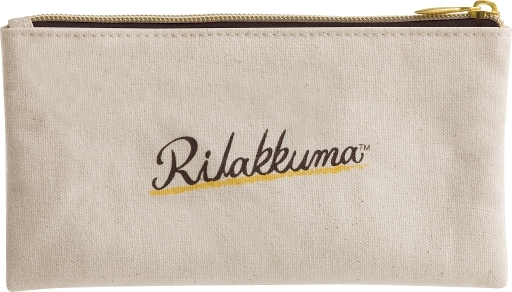 "Rilakkuma Deli Theme Flat Pen Pouch ""Rilakkuma"""