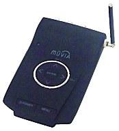 MUVIA AV機器向けポータブルワンセグチューナー[ブラック]