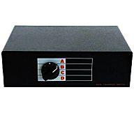 DATA TRANSFER SWITCH 4ポートアナログ21ピンRGBセレクター (ブラック)