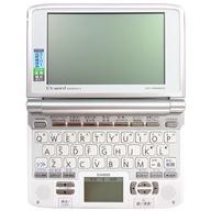 電子辞書 EX-WORD DATAPLUS 3 ホワイト [XD-SW4800] (状態:本体のみ・本体状態難)