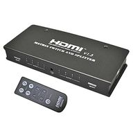 HDMI Matrix Switch&Splitter V1.3 (4×2 PORT) [DN-HDMI423]