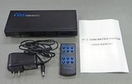 4×2 HDMI MATRIX SWITCH (状態:箱欠品/詳細不明品※詳細は商品説明を御覧下さい)
