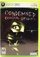 北米版 CONDEMNED CRIMINAL ORIGINS(国内版本体動作可)