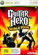 アジア版 GUITAR HERO WORLD TOUR (国内版本体動作可)