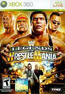 北米版 WWE LEGENDS OF WRESTLEMANIA(国内版本体動作可)