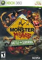 北米版 Monster Madness BATTLE FOR SUBURBIA(国内版本体動作不可)