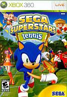 北米版 SEGA SUPERSTARS TENNIS(国内版本体動作可)