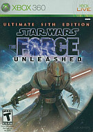 北米版 STAR WARS THE FORCE UNLEASHED ULTIMATE SITH EDITION(国内版本体動作可)