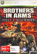 EU版 BROTHERS IN ARMS HELLS HIGHWAY (国内版本体動作可)