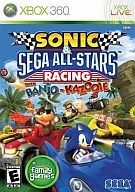 北米版 SONIC&SEGA ALL-STARS RACING WITH BANJO-KAZOOIE (国内版本体動作可)