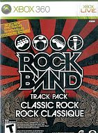 北米版 ROCK BAND TRACK PACK CLASSIC ROCK(国内本体不可)