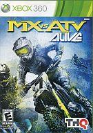 北米版 MX VS ATV ALIVE(国内版本体動作可)