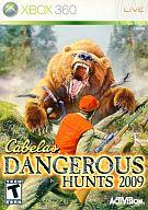 北米版 CABELA'S DANGEROUS HUNTS 2009(国内版本体動作不可)