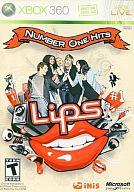 北米版 LIPS NUMBER ONE HITS ソフト単品(国内本体可)