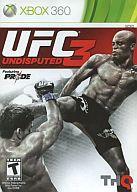 北米版 UFC UNDISPUTED 3 (国内版本体動作可)