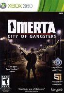北米版 OMERTA -CITY OF GANGSTERS(国内版本体動作可)
