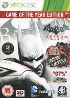 EU版 BATMAN ARKHAM CITY [GAME OF THE YEAR EDITION] (国内版本体可)