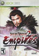 北米版 SAMURAI WARRIORS 2 EMPIRES (国内版本体動作不可)
