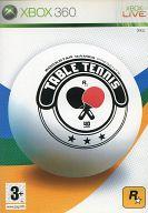 EU版 TABLE TENNIS(国内版本体動作不可)