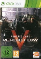 EU版 ARMORED CORE VERDICT DAY(国内版本体動作可)