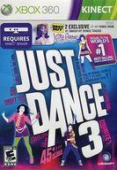 北米版 JUST DANCE 3 (国内版本体動作可)