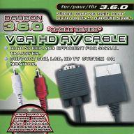 VGA HD AV CABLE(XBOX360用)