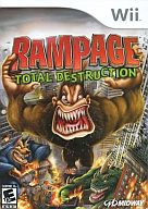 北米版 RAMPAGE -TOTAL DESTRUCTION-(国内版本体動作不可)