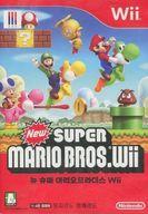 韓国版 New SUPER MARIO BROS.Wii(国内版本体動作不可)