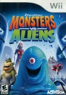 北米版 MONSTERS VS ALIENS (国内版本体動作不可)
