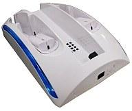 wii専用リモコン充電器 ブルーLEDライトアップ&冷却ファン