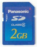 パナソニック SDメモリカード 2GB (RP-SDM02G)