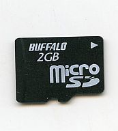 microSDカード 2GB (箱説無し/型番不明品)