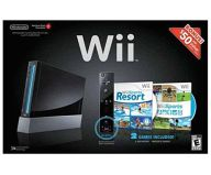 北米版 Wii本体 kuro Sports Resort Pack