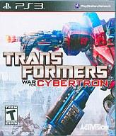 北米版 TRANSFORMERS WAR FOR CYBERTRON(国内版本体動作可)