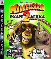 北米版 MADAGASCAR ESCAPE 2 AFRICA(国内版本体動作可)